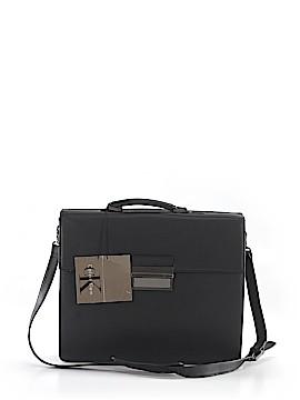 Calvin Klein Leather Messenger One Size