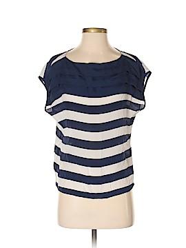 Sparkle & Fade Short Sleeve Silk Top Size S