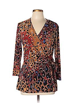 Anne Klein 3/4 Sleeve Top Size L