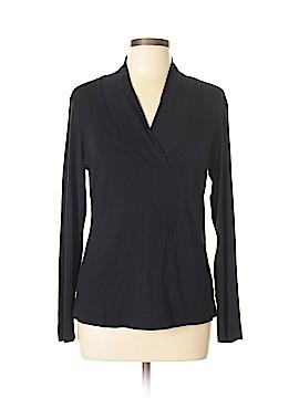 Barbara Lesser Fibers Pullover Sweater Size L