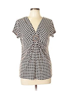 Josephine Chaus Short Sleeve Top Size L