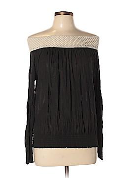 Elan Long Sleeve Blouse Size L
