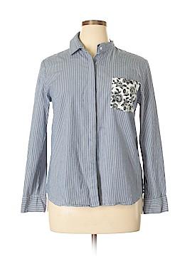 Thakoon for DesigNation Long Sleeve Button-Down Shirt Size XL