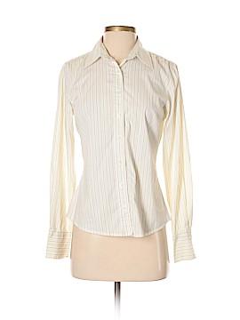 IZOD Long Sleeve Button-Down Shirt Size S