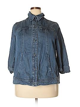 Coldwater Creek Denim Jacket Size 18W (Plus)