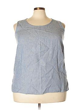 Flax Sleeveless Blouse Size 22 (2G) (Plus)
