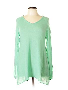 Claudia Nichole Cashmere Cashmere Pullover Sweater Size L