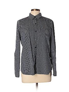 QMack Long Sleeve Button-Down Shirt Size L