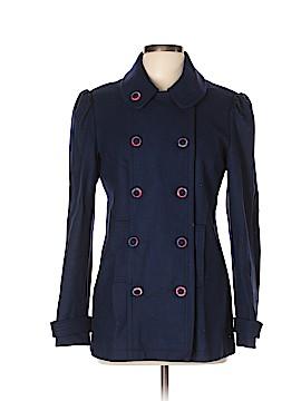 Modern Amusement Wool Coat Size L