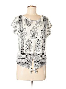 Bethany Mota for Aeropostale Short Sleeve Blouse Size M