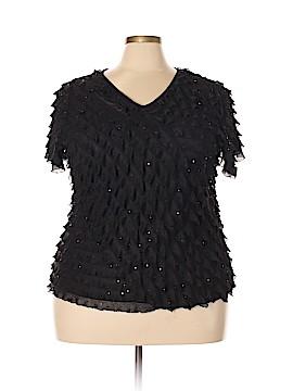 Elementz Short Sleeve Top Size 3X (Plus)