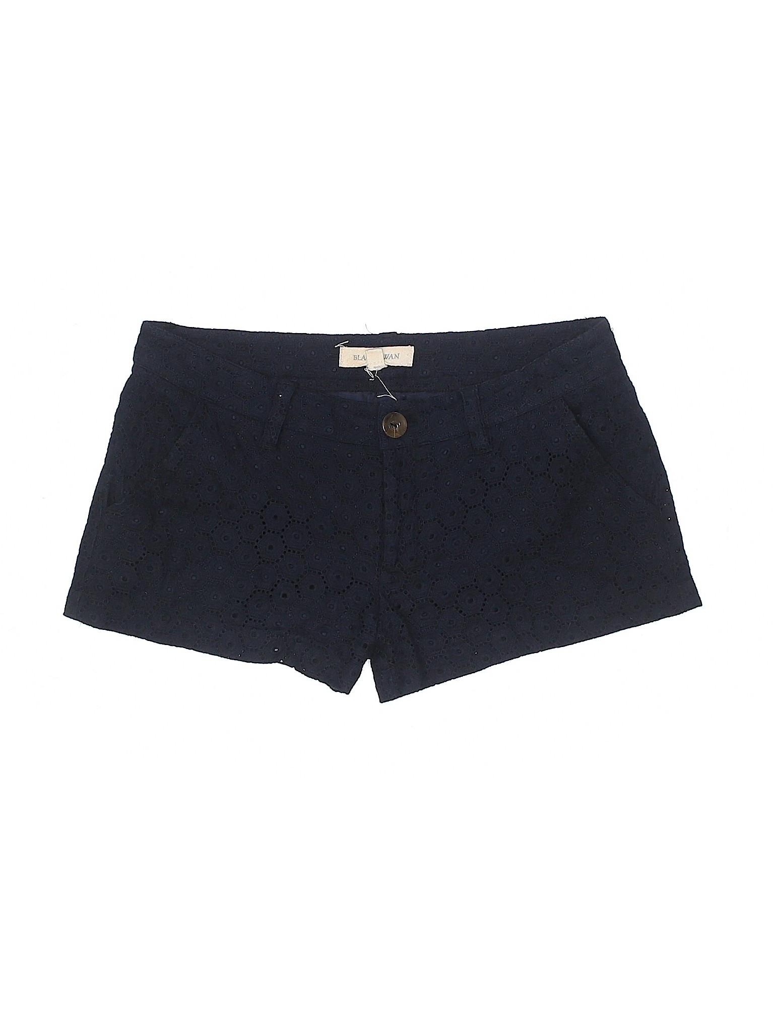 Black Shorts leisure Boutique Black Boutique Swan Boutique leisure Shorts Swan wZWR0Bq60