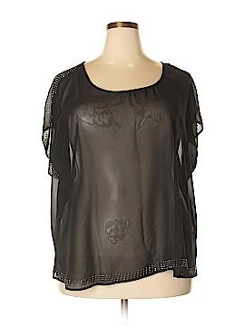 Penelope Short Sleeve Blouse Size 3X (Plus)