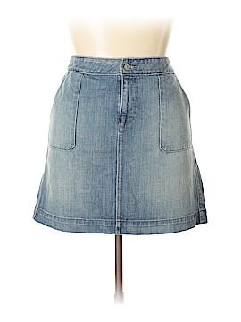 Ann Taylor LOFT Denim Skirt Size 14