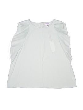 Q&A Short Sleeve Blouse Size XL