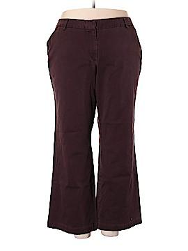 Lands' End Khakis Size 22 (Plus)
