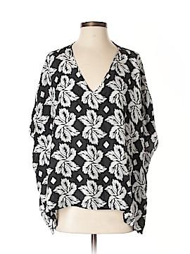 Diane von Furstenberg Short Sleeve Blouse Size S