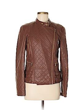 Calvin Klein Faux Leather Jacket Size M