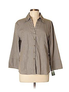 Harve Benard by Benard Holtzman 3/4 Sleeve Blouse Size XL