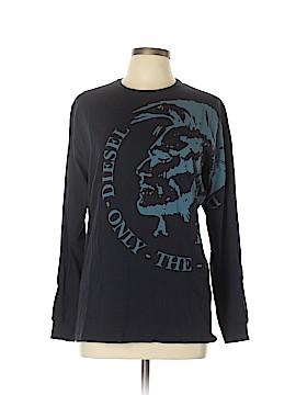 Diesel Long Sleeve T-Shirt Size L