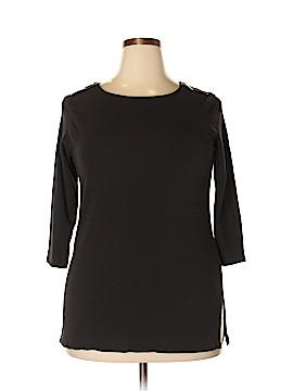 MICHAEL Michael Kors 3/4 Sleeve T-Shirt Size 1X (Plus)