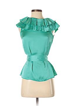 Aryn K. Short Sleeve Blouse Size S