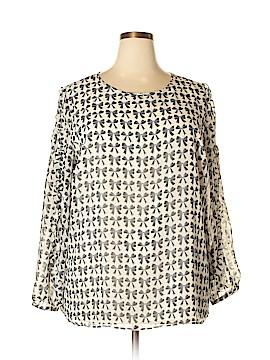 Talbots Long Sleeve Blouse Size 2X (Plus)