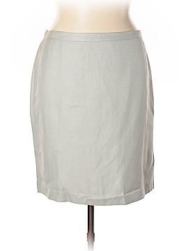 Ann Taylor LOFT Silk Skirt Size 16