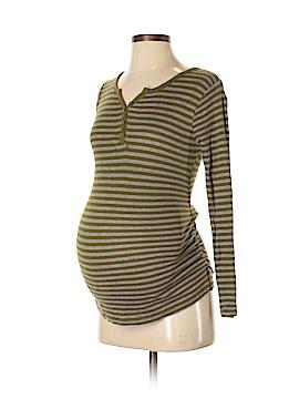 Liz Lange Maternity Long Sleeve Henley Size XS (Maternity)