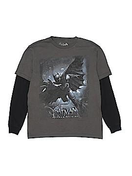 Batman Long Sleeve T-Shirt Size L (Youth)