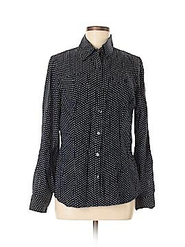 Van Heusen Long Sleeve Blouse Size M