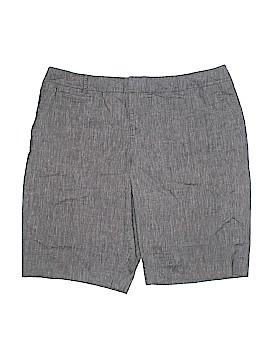 Coldwater Creek Khaki Shorts Size 20 (Plus)