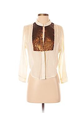 New Romantics Long Sleeve Blouse Size S (Petite)