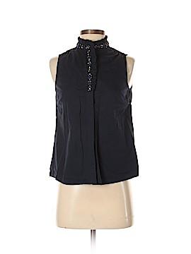 J. Crew Sleeveless Button-Down Shirt Size 2 (Petite)