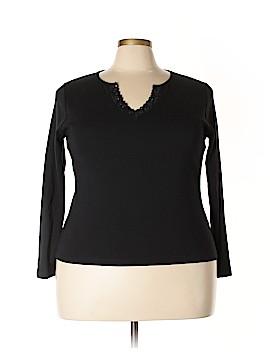 Sigrid Olsen Long Sleeve Top Size 1X (Plus)