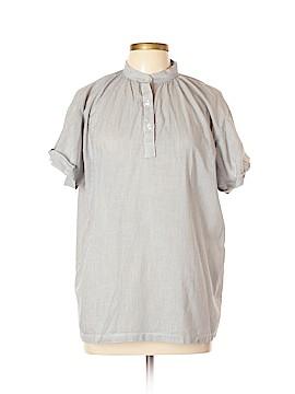 Koch Short Sleeve Button-Down Shirt Size L