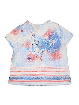 IB Diffusion Short Sleeve T-Shirt Size 1X (Plus)