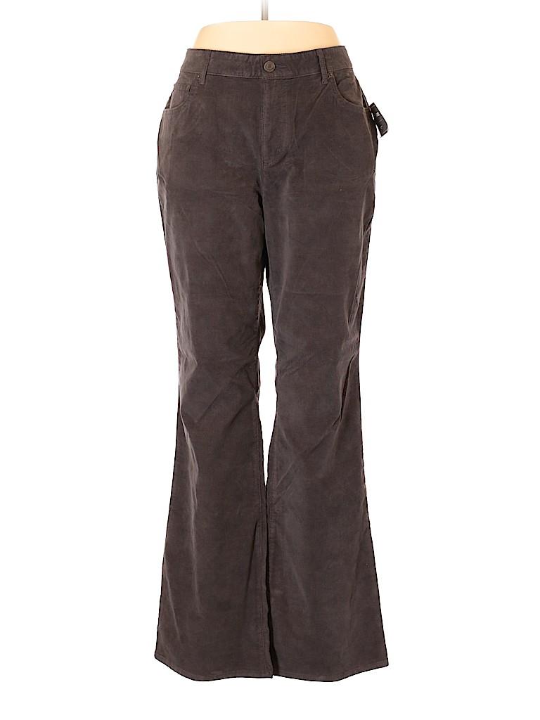 Eddie Bauer Women Velour Pants Size 16