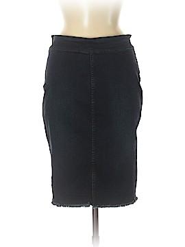 Harlowe & Graham Denim Skirt Size M