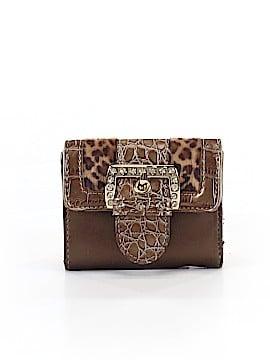 Kathy Van Zeeland Leather Wallet One Size