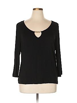 Ellen Tracy 3/4 Sleeve Blouse Size XL