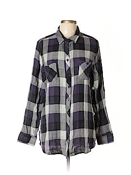 Hot Topic Long Sleeve Button-Down Shirt Size XXL