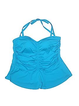 Swim by Cacique Swimsuit Top Size 24 (Plus)