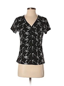 AK Anne Klein Short Sleeve Top Size M (Petite)