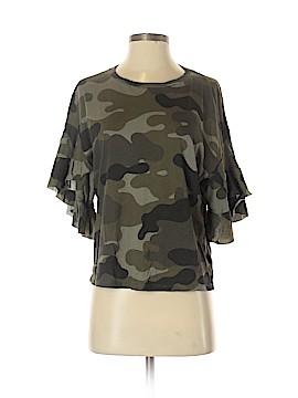 Zara TRF 3/4 Sleeve Top Size S