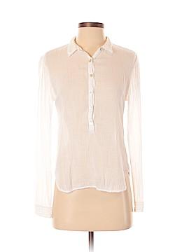 Velvet by Graham & Spencer Long Sleeve Button-Down Shirt Size S
