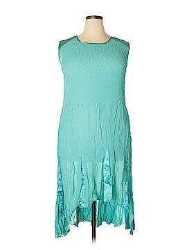 Jerry T Casual Dress Size 1X (Plus)