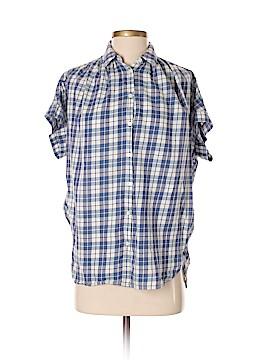 Madewell Short Sleeve Button-Down Shirt Size XS
