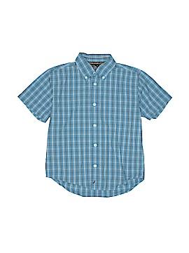 Nautica Short Sleeve Button-Down Shirt Size 6 - 7