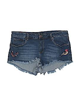 STS Blue Denim Shorts Size 32 (Plus)